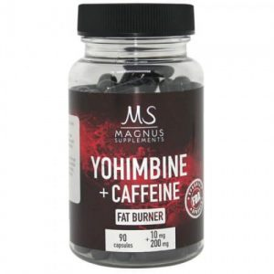 yohimbine caffeine